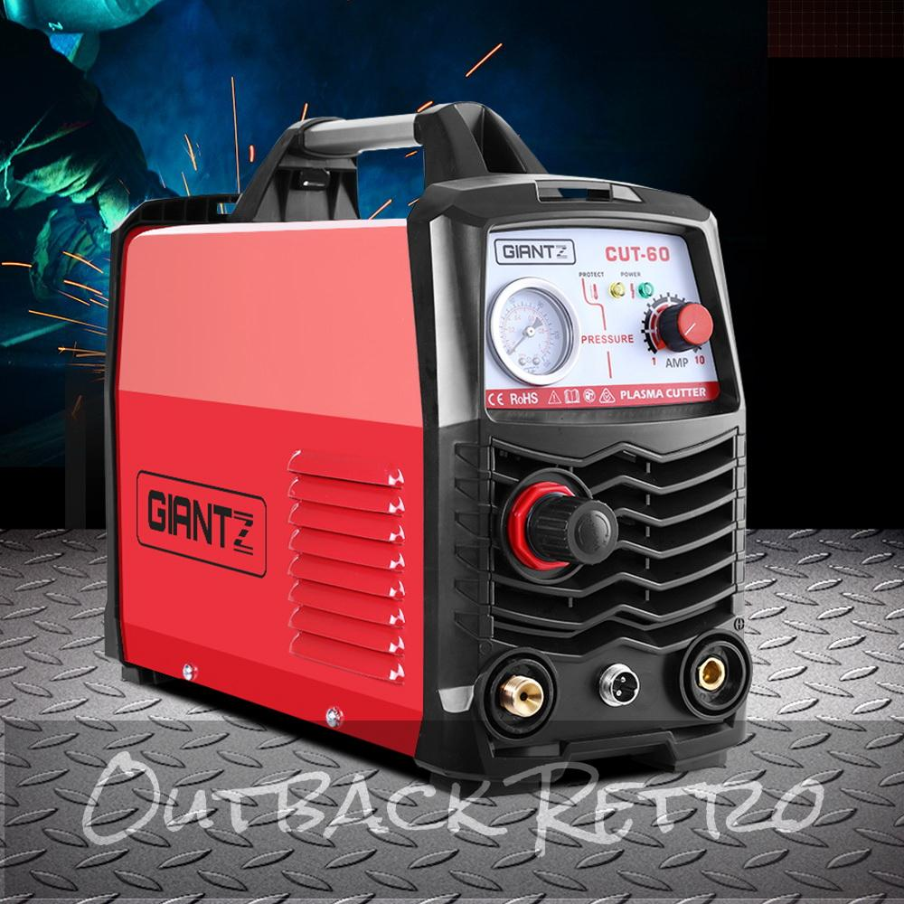 Giantz Plasma Cutter Inverter Welder Portable Gas Air DC HF Welding Machine 60A