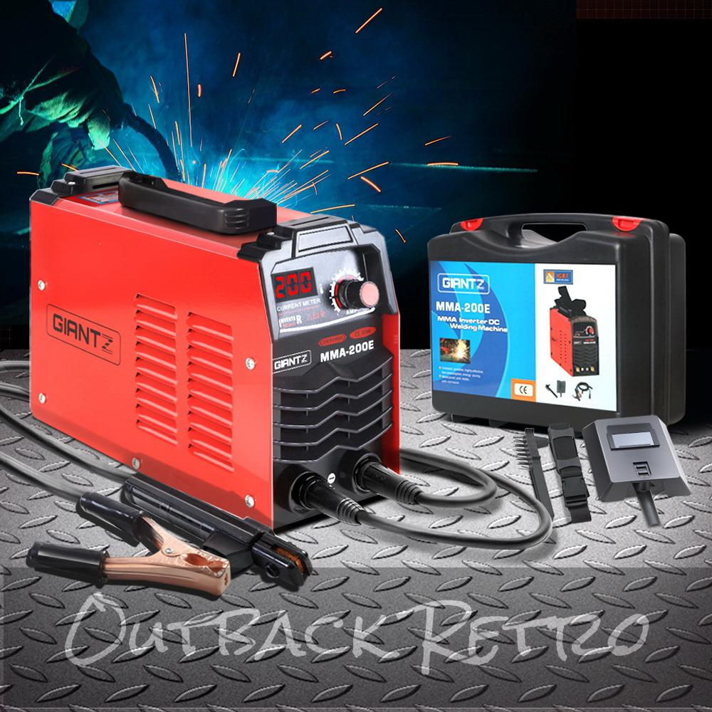 GIANTZ Ultra Portable ARC Inverter Welder MMA Stick DC Welding Machine 200Amp
