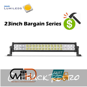23inch Philips Lumileds LED Driving Light Bar Offroad 4x4