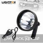 15W CREE LED Handheld Spot Light Rechargeable Spotlight Hunting Shooting T6 12V