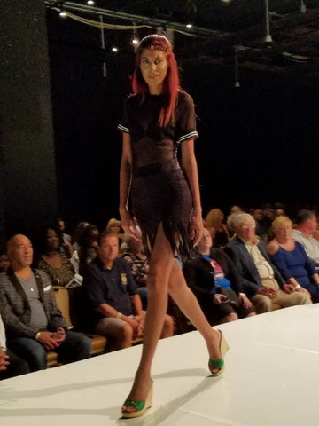 Rosie Mears Collection on the Catwalk