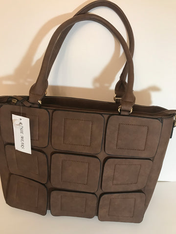 Tote Handbag ( Chocolate Brown)