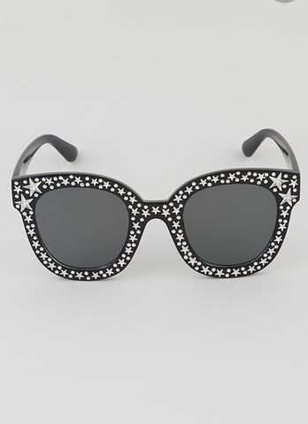 Star Beaded Fashion Sunglasses