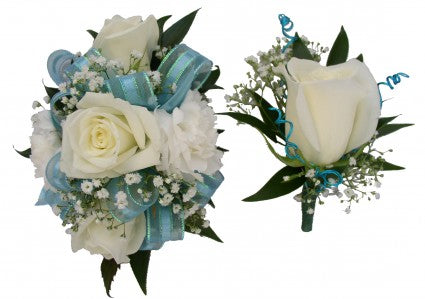 Matching Corsage and Boutonniere Special