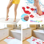 Invisible Color Changing Bloody Bath Mat