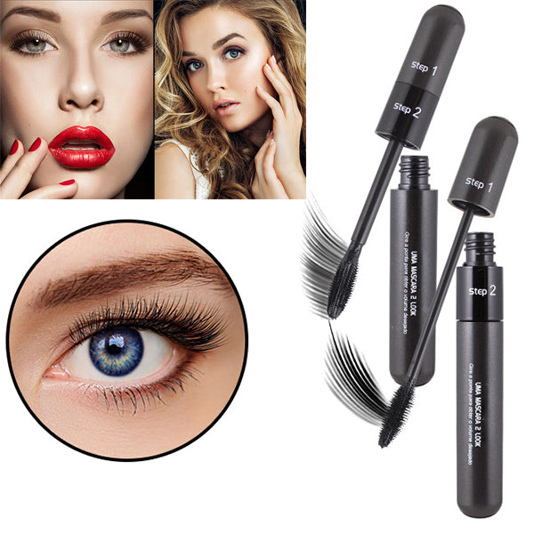 2 in 1 4D Fiber Makeup Mascara