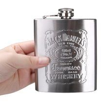 Load image into Gallery viewer, 7 Oz Stainless Steel Hip Flask Set