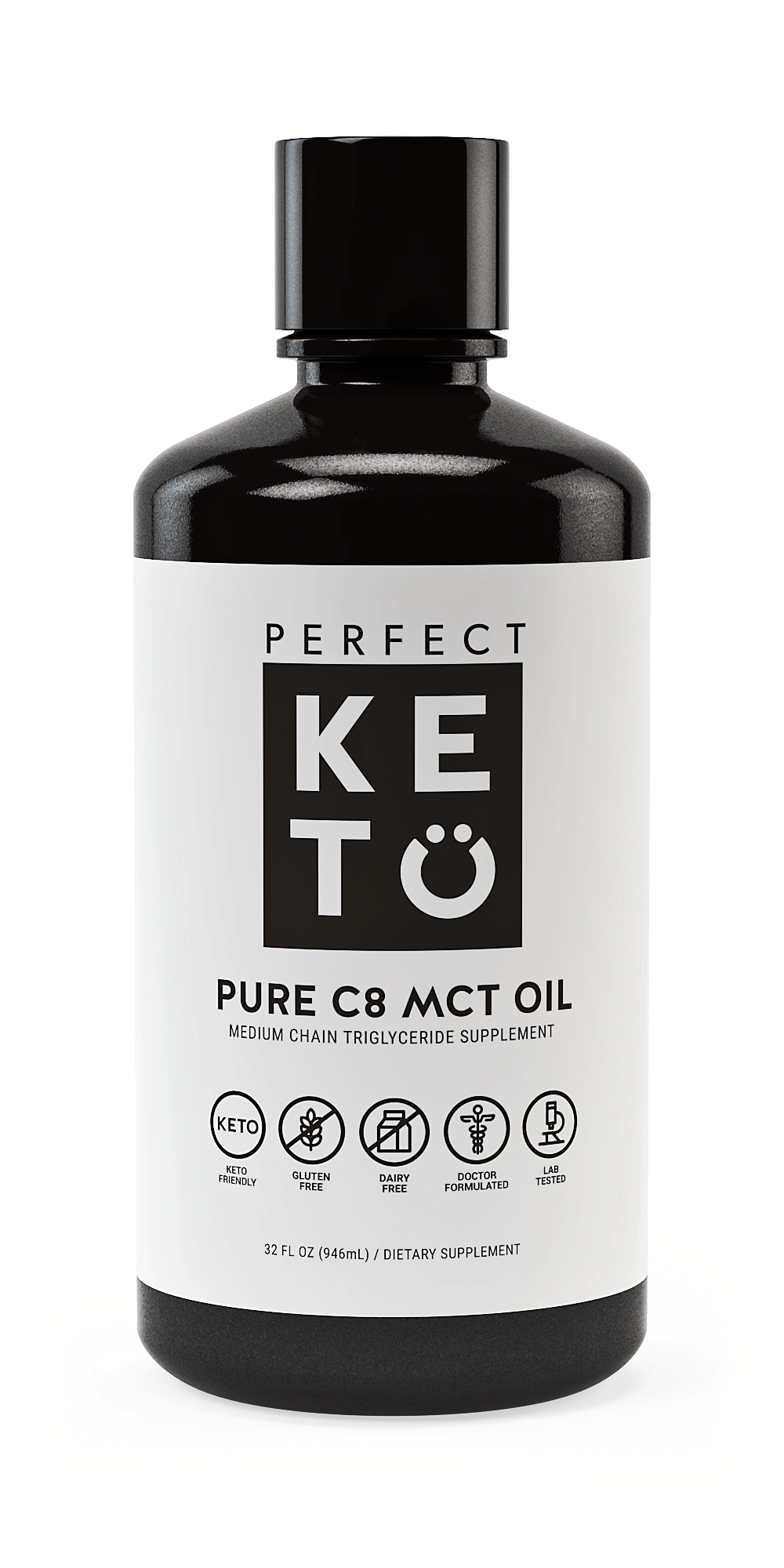 100% Pure MCT Oil - BYOB