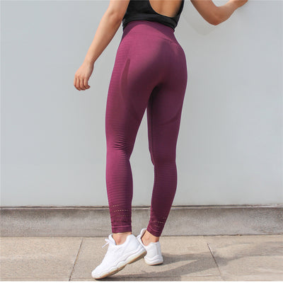 Legging Athletic Prune vu de dos