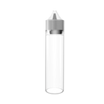 60ml PET Bottle with Clear Nib and Clear Cap