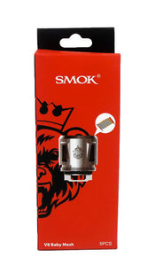 5 pack of SMOK  V8 Baby Mesh coils
