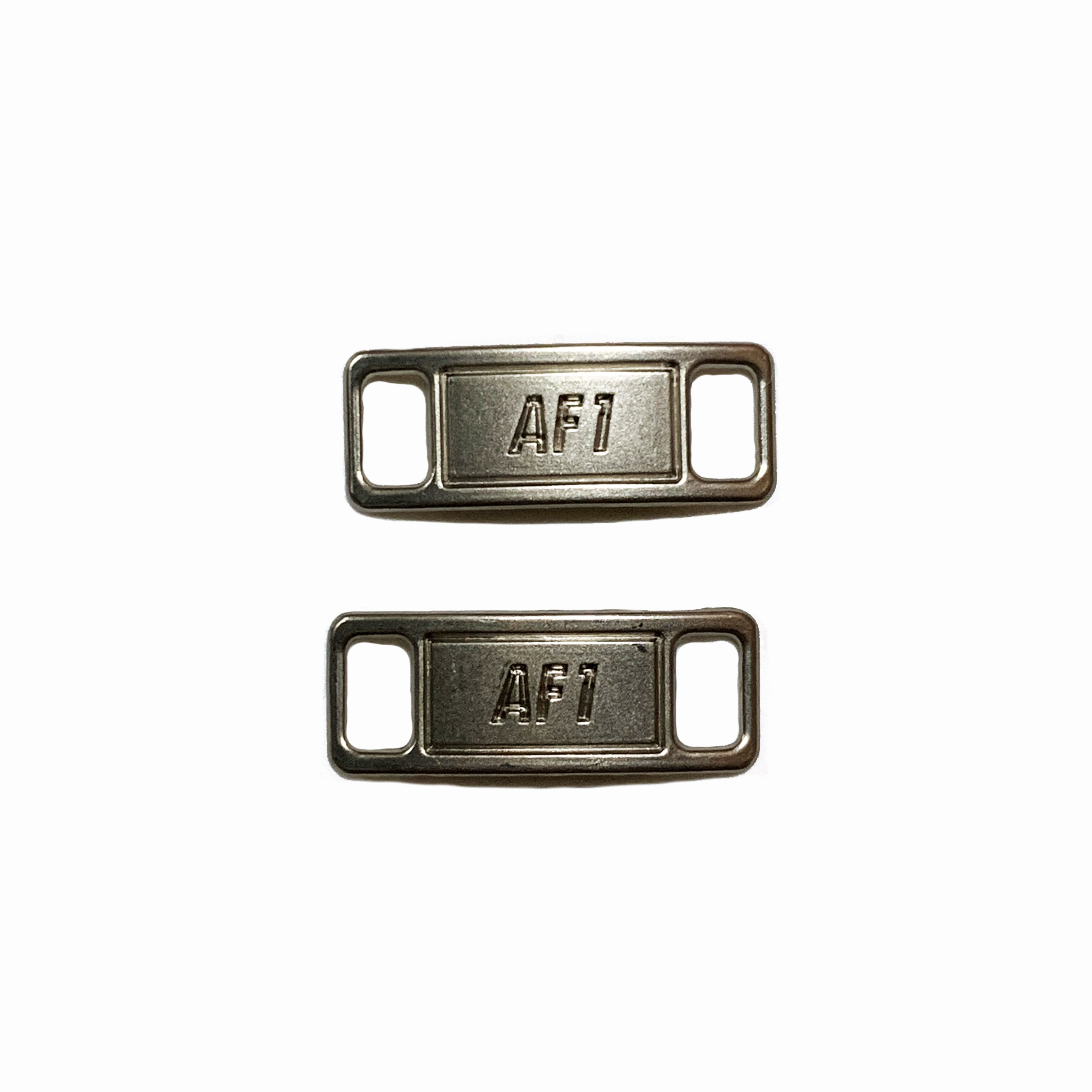 SILVER AIR FORCE 1 METAL PLATE V3   Earth is Soft