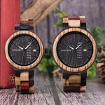Antique Men's Wood Watch - Flash Sale Club