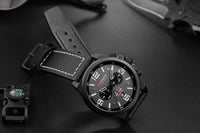 Water Resistant Military Chronograph - Flash Sale Club