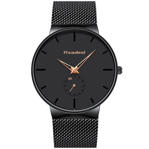 Stainless Steel Designer Watch - FLASH SALE CLUB