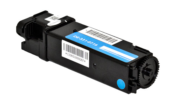 769T5 Dell Compatible Toner, Cyan, 2.5K High Yield