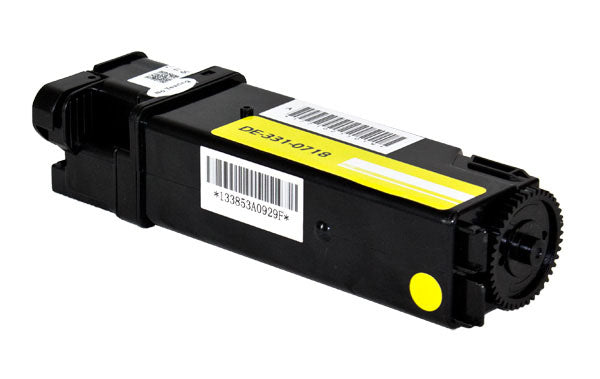 9X54J Dell Compatible Toner, Yellow, 2.5K High Yield
