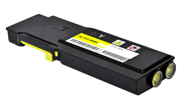 YR3W3 Dell Compatible Toner, Yellow, 4K Yield