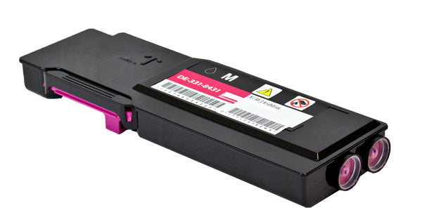 331-8431 Dell Compatible Toner, Magenta, 9K Extra High Yield