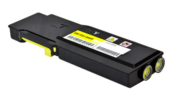 F8N91 Dell Compatible Toner, Yellow, 9K Extra High Yield