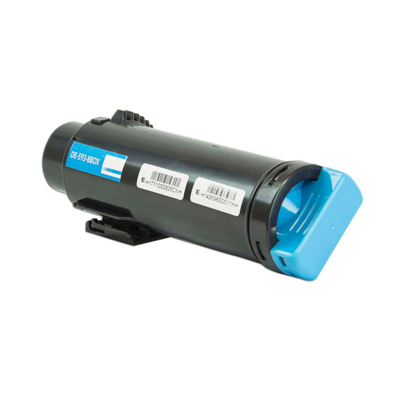 P3HJK Dell Compatible Toner, Cyan, 2.5K High Yield