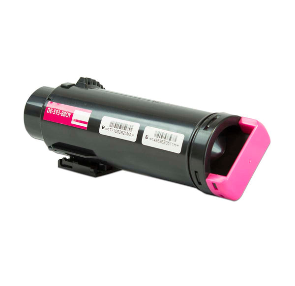 593-BBOY Dell Compatible Toner, Magenta, 2.5K High Yield