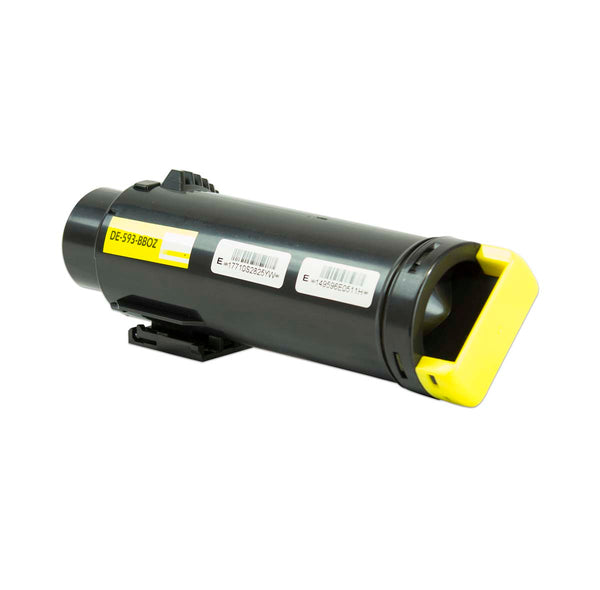 593-BBOZ Dell Compatible Toner, Yellow, 2.5K High Yield