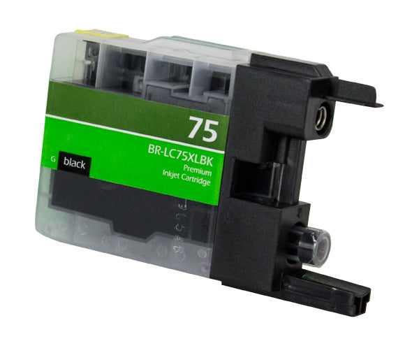 LC75XLBK Brother Inkjet Compatible Cartridge, Black, 16.6ML H.Yield
