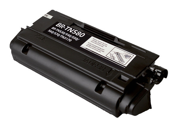 TN550 Brother Compatible Toner, Black, 7K High Yield