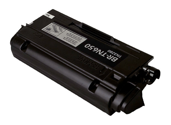 TN650 Brother Compatible Toner, Black, 8K High Yield