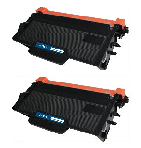 TN820 Brother Compatible Toner, Black, 8K High Yield *2 Pack