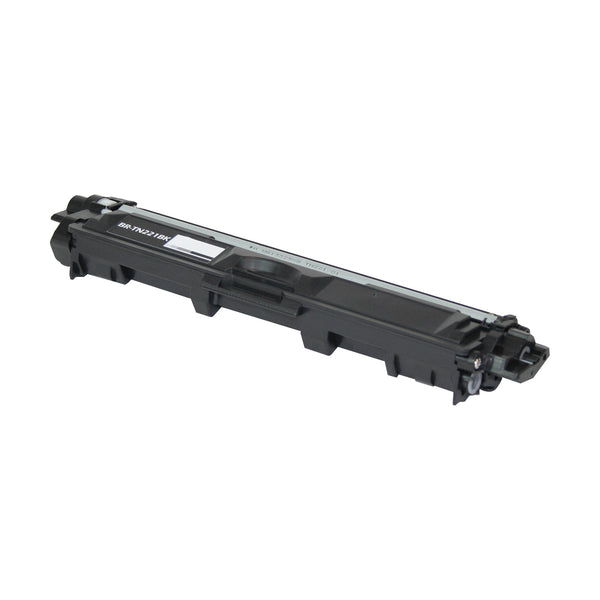 TN221BK Brother Compatible Toner, Black, 2.5K Yield