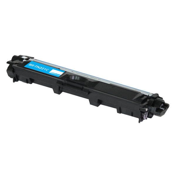 TN221C Brother Compatible Toner, Cyan, 1.4K Yield
