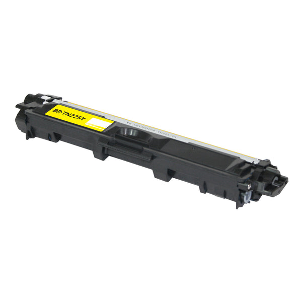TN225Y Brother Compatible Toner, Yellow, 2.2K High Yield