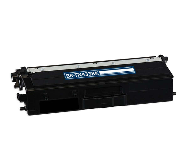 TN431BK Brother Compatible Toner, Black, 4.5K High Yield