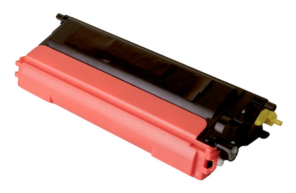 TN110Y Brother Compatible Toner, Yellow, 4K High Yield