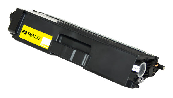 TN315Y Brother Compatible Toner, Cyan, 3.5K High Yield