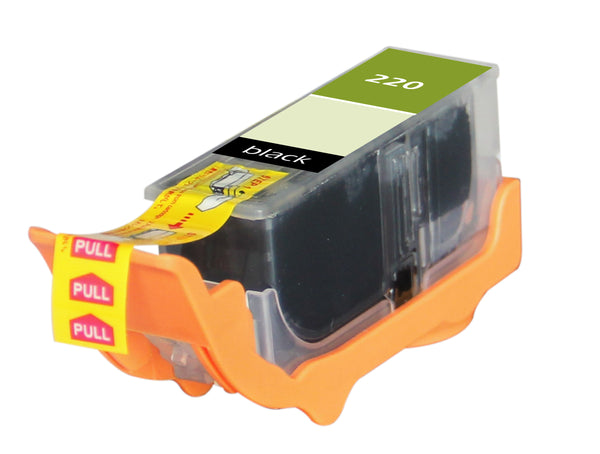 220 Canon Inkjet Compatible Cartridge, Black, 16ML