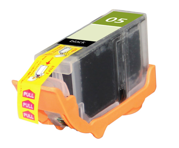 PGI-5BK Canon Inkjet Compatible Cartridge, Black, 25ML