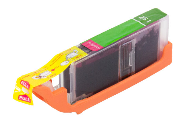 CLI-251MXL Canon Inkjet Compatible Cartridge, Magenta, 9.8ML H.Yield