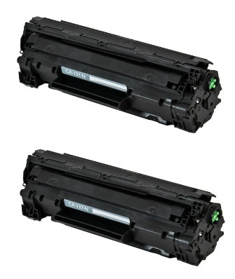 CRG-137 Canon Compatible Toner, Black, 2.2K Yield *2 Pack