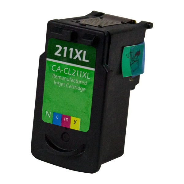2975B001 Canon Inkjet Remanufactured Cartridge, CMY, 15ML H.Yield