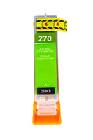 PGI-270XLPGBK Canon Inkjet Compatible Cartridge, Black, 25ML H.Yield