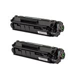 0263B001AA Hewlett-Packard Compatible Toner, Black, 2K Yield *2 Pack