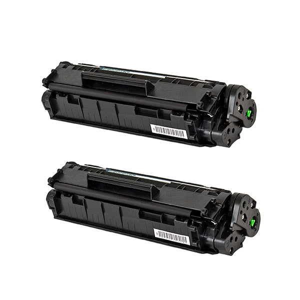 12A Hewlett-Packard Compatible Toner, Black, 2K Yield *2 Pack