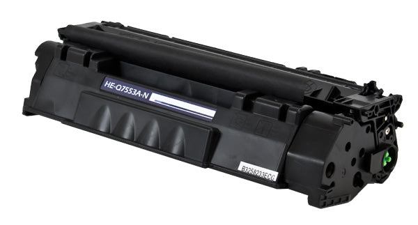 Q7553A Hewlett-Packard Compatible Toner, Black, 3K Yield