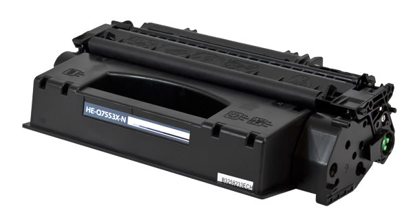 Q7553X Hewlett-Packard Compatible Toner, Black, 7K High Yield