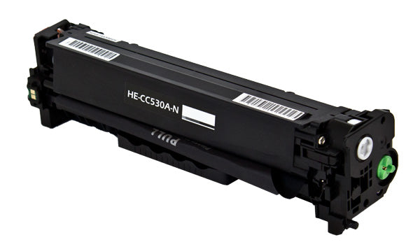 CC530A Hewlett-Packard Compatible Toner, Black, 3.5K Yield