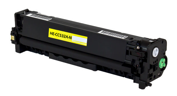 CC532A Hewlett-Packard Compatible Toner, Yellow, 2.8K Yield