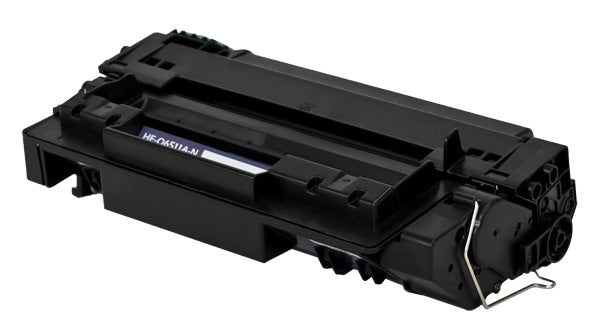 11A Hewlett-Packard Compatible Toner, Black, 6K Yield